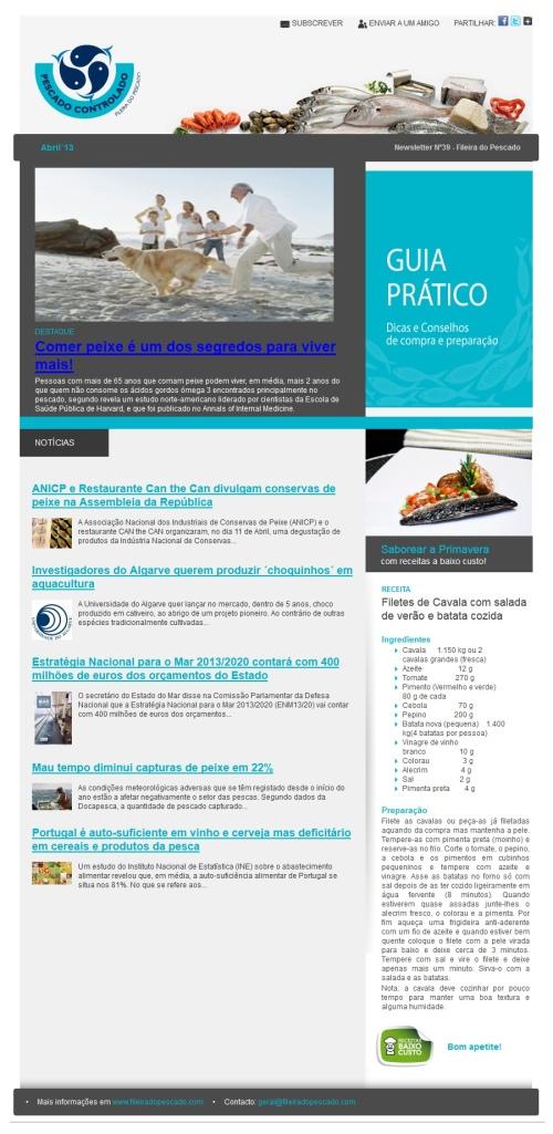newseltter nº39 Fileira do pescado