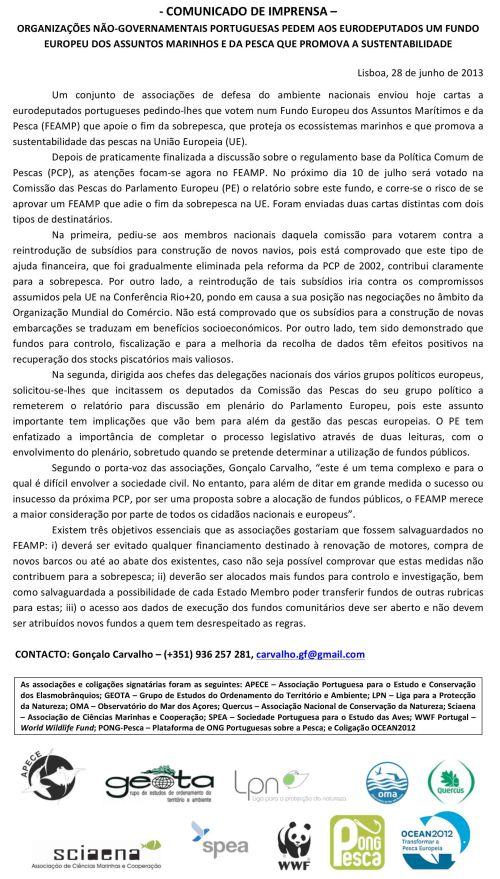 Microsoft Word - CI_ONGsPT_enviam _cartas _a eurodeputados_por u