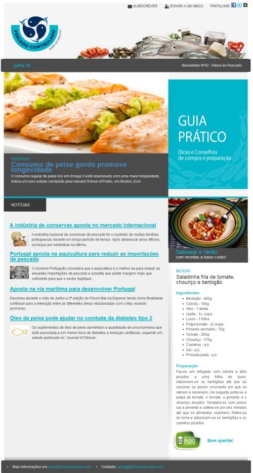 Newsletter Fileira do Pescado Nº42