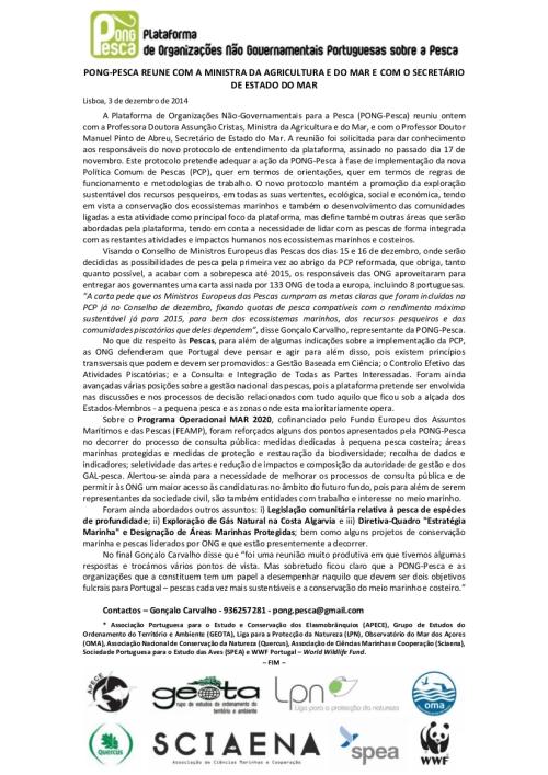 Comunicado de Imprensa_PONG-Pesca_Audiência_MinAgrMar_SecEstMar_2014_Final