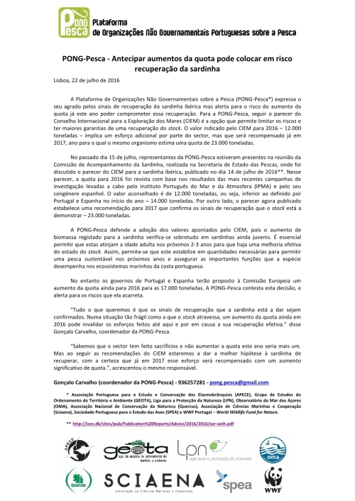 2016-07-22_Comunicado de Imprensa_Quota de Sardinha para 2016-2017_Final