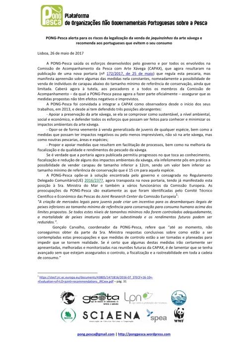 Comunicado PONG-Pesca Xavega_26-05-2017_Final1